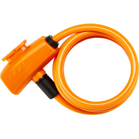 BBB QuickSafe BBL-61 Cable Lock Ø8mm, orange